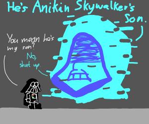Darth Vader spoils his plot twist
