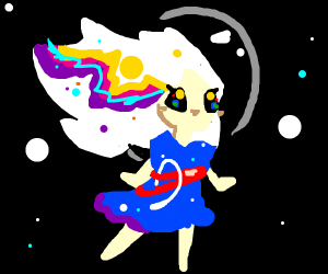 NASA girl