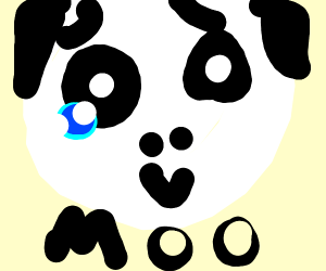 Depressed cow