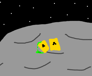 Nuclear barrels on the Moon