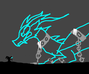 Chained up dragon