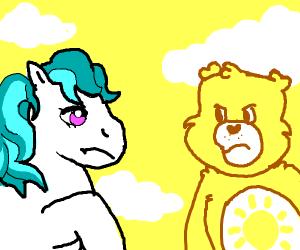 My little pony vs Care bears