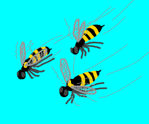 BEES INVADE DRAWCEPTION!