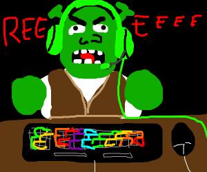 gamer shrek