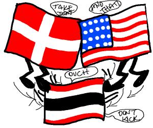 switzerland and usa kicking thailand