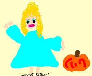 Cinderella despises pumpkin