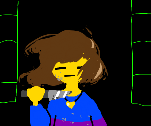 Frisk is about to kill someone