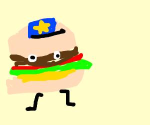Hamburger police