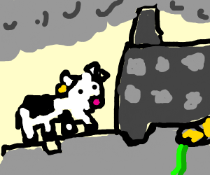 Cow from Chernobyl