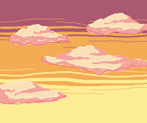 Lil fluffy clouds