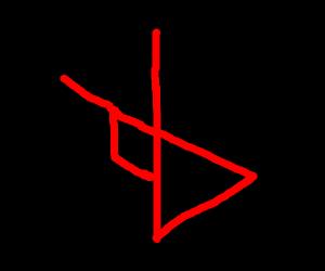 triangular symbol