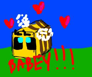 Minecraft bee flying