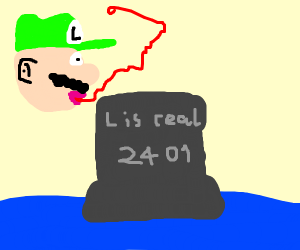 L is real statue from Super Mario 64