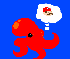 octopus wish it were mario
