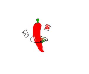 magician red pepper