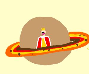 King on Saturn