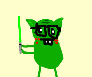 Nerdy Yoda