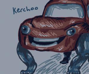 Kerchoo but legs