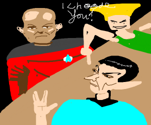 guile prefers spock over picard