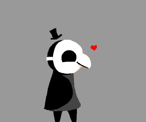 Cute plague doctor