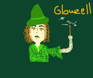Glowzell the witch