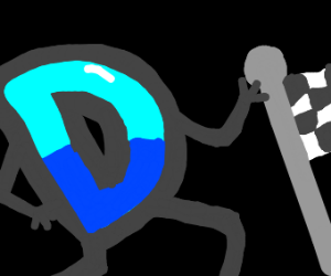 drawception d finishes the race