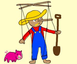 Pinocchio Farmer