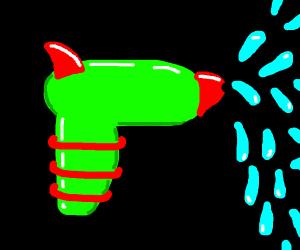 Green water gun