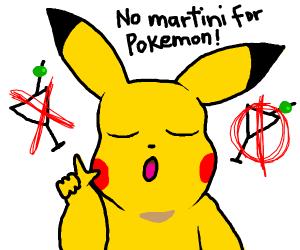 martini NOT for Pokemon.