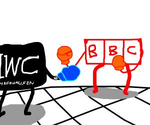 BBC vs IWC