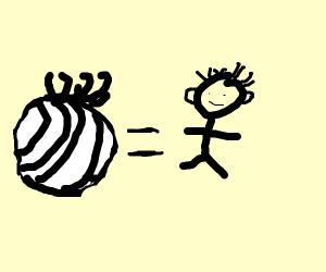 Onion equals person