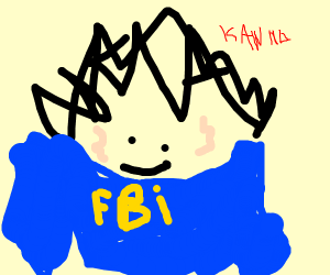 Kanna is in the FBI