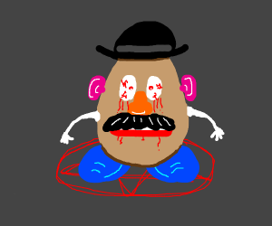 Demonic Mr Potato Head