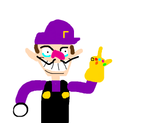 Waluigi Has The Gauntlet