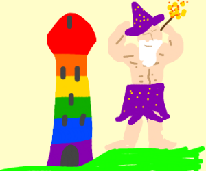 Gay tower for the mightiest wizards