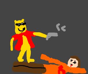 Winnie the Pooh shoots you