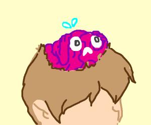 Chibi brain stressing out