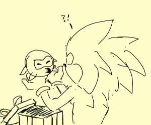 Sonic doesn't want octoroc present