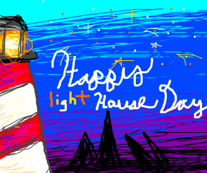 Happy lighthouse day