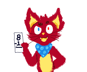 red cat wants you to do math