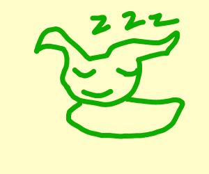 Sleeping goblin