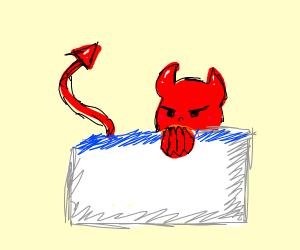 Demon in the bathtub