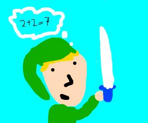 Link failing at simple math