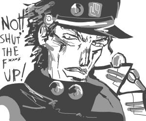 Jotaro says NO