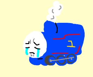 Depressed Thomas the Tank Engine