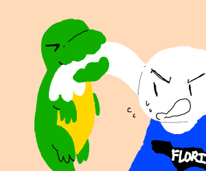 Florida man gets bit by a Alligator
