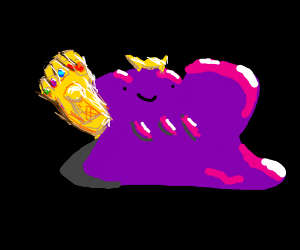 if ditto were thanos