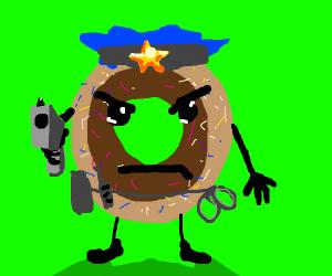 Donut Cop