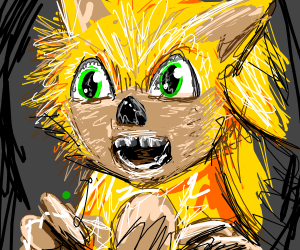 Sonichu (sonic pikachu)