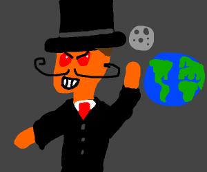 Evil space man